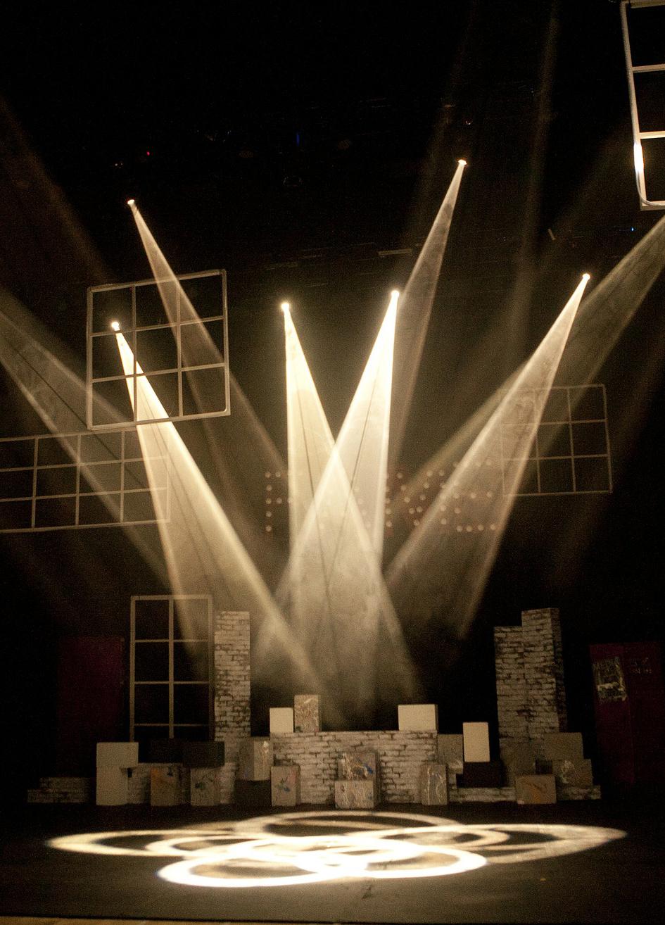 舞台照明 - Stage lighting
